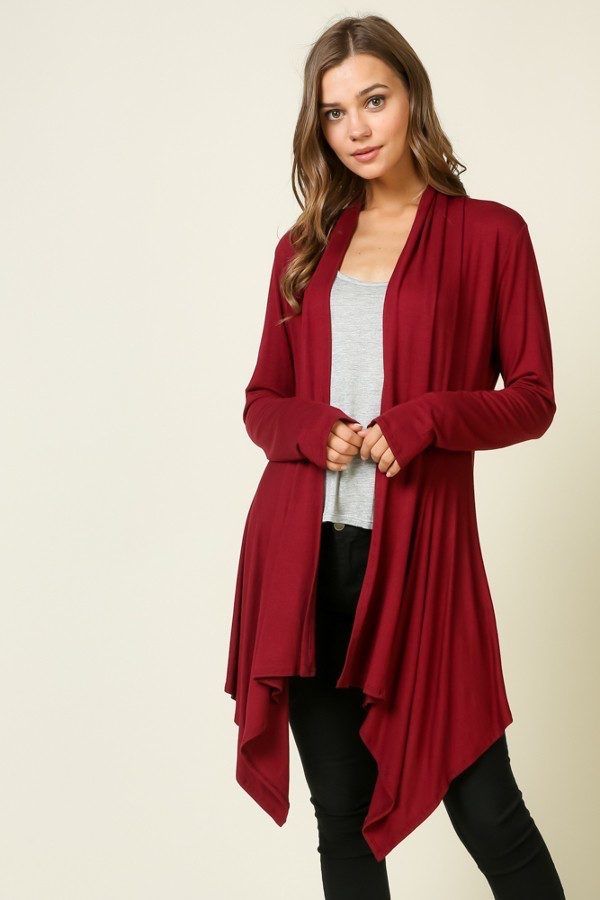 Wine cardigan SMALL