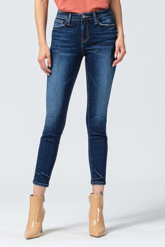 Without me mid rise jeans