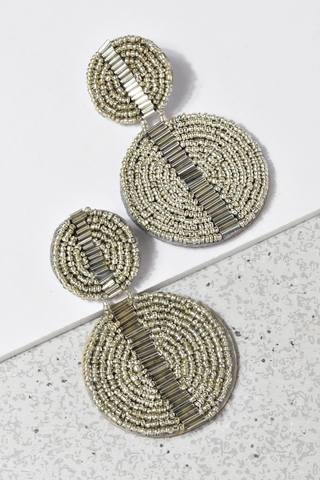 Miami earrings silver