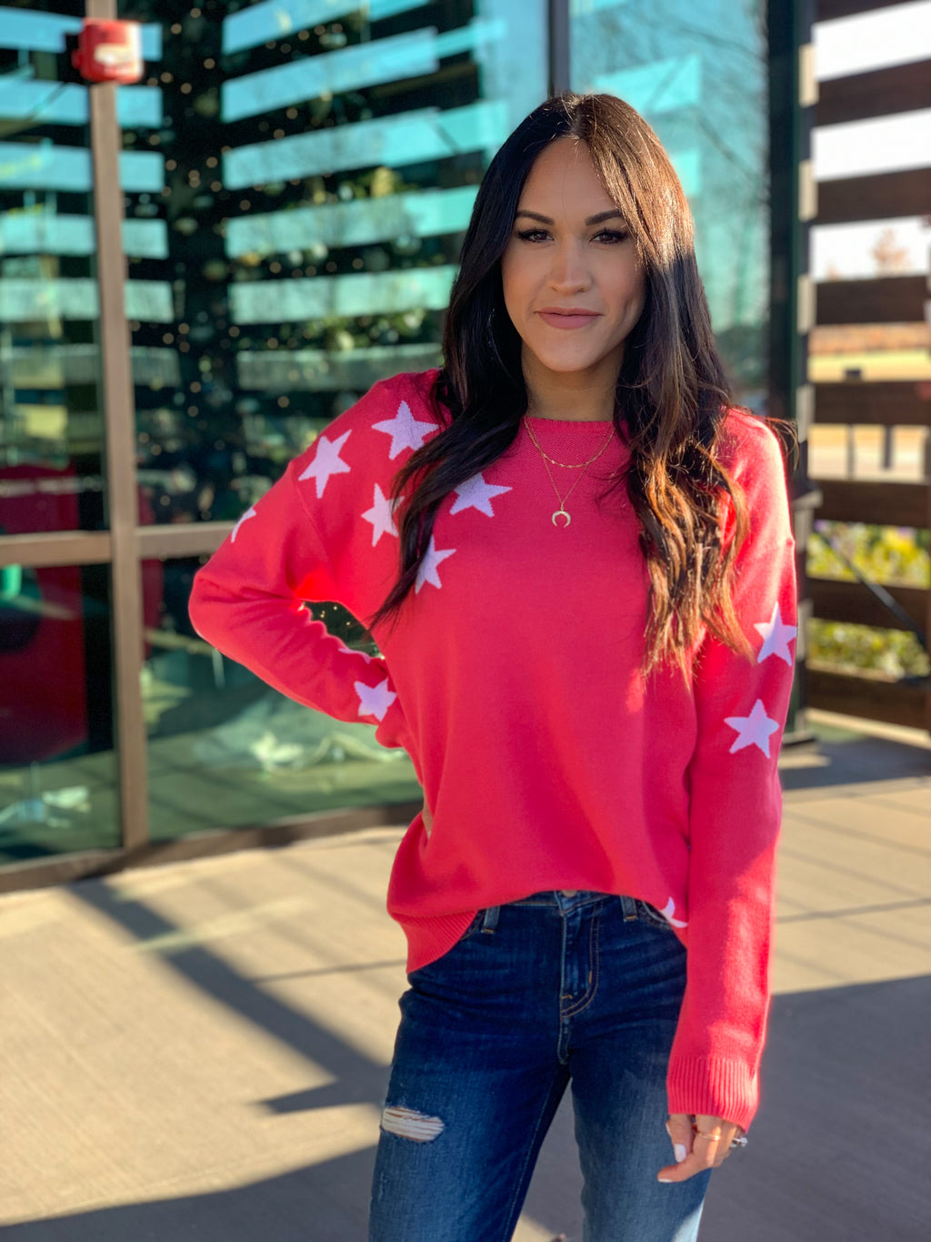 Counting stars sweater