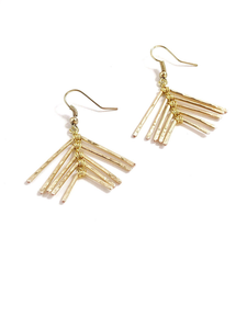 Paume earrings gold