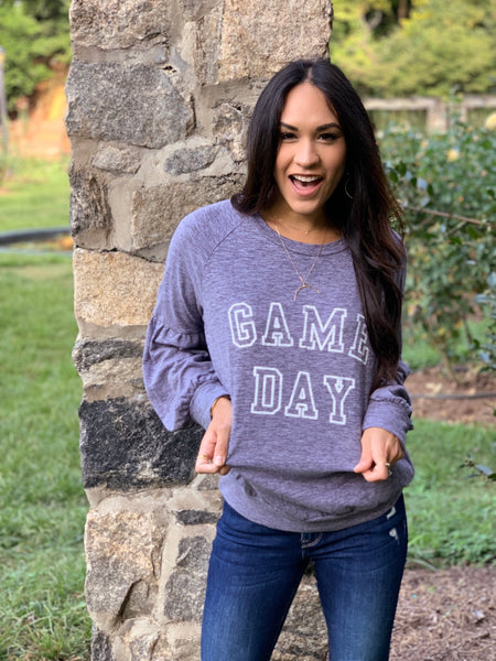 Game day sweater