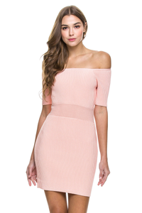 Nude Pink dress