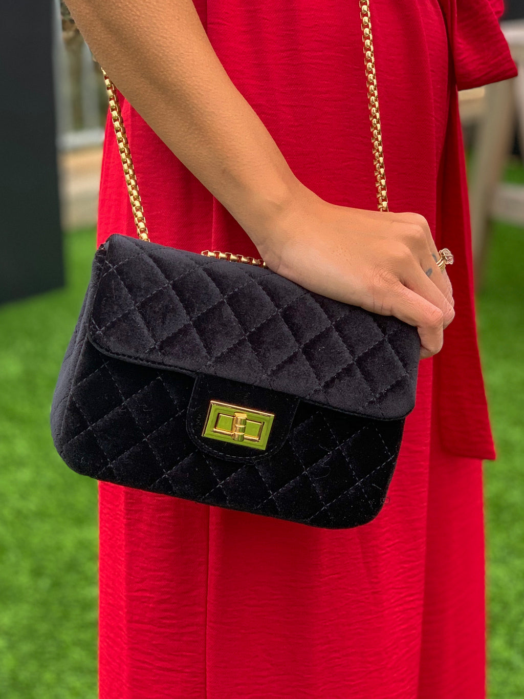 Final touch clutch black