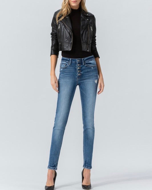 Disclosure high rise button up jeans