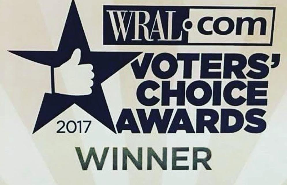 Winner: WRAL.com Voters'Cchoice Awards