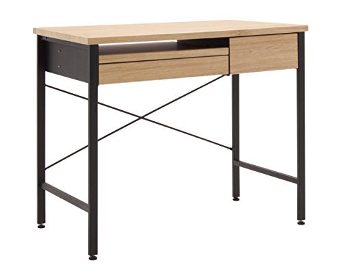 Calico Designs Compact Art Drawing/Computer Desk for Kids in Ashwood/Graphite 51241