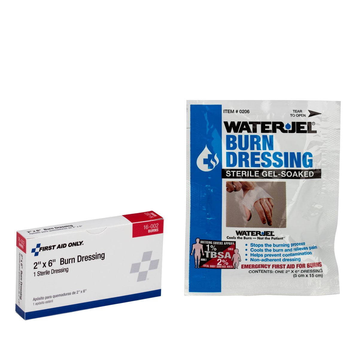 "2""X6"" Burn Dressing, 1 Per Box - BS-FAK-16-002-1-FM"