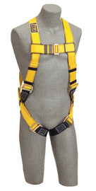 3M™ DBI-SALA® X-Large Delta™ II Full Body/Vest Style Harness With Back D-Ring And Parachute Buckle Leg Strap