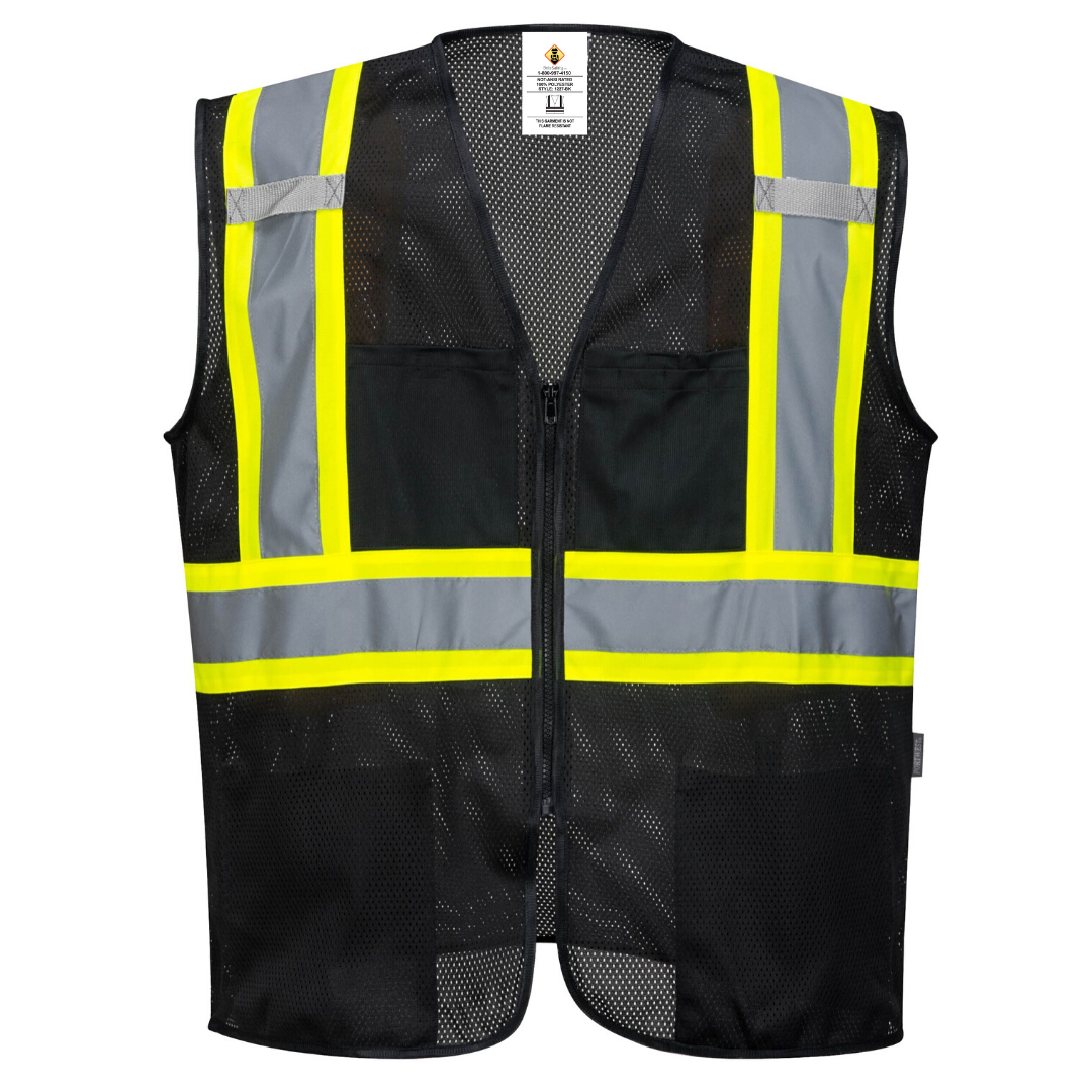 Brite Safety Iona Xtra Mesh Vest - Safety Work Wear - High Visibility