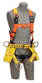 "3M™ DBI-SALA® Large Delta™ II Bosun Chair Harness With Back D-Ring, Tongue Buckle Leg Strap And 8"" Wide Seat Board"