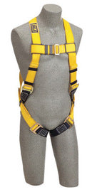 3M™ DBI-SALA® Universal Delta™ No-Tangle™ Full Body/Vest Style Harness With Back D-Ring And Parachute Leg Strap Buckle