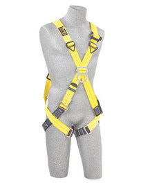 3M™ DBI-SALA® Universal Delta™ Full Body/Vest Style Harness With Stand Up Rear D-Ring, Side D-Rings And Parachute Adjuster Leg Straps