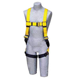 3M™ DBI-SALA® Universal Delta™ No-Tangle™ Construction/Vest Style Harness With Back D-Ring, Quick Connect Chest And Pass-Thru Leg Strap Buckle And Comfort Padding