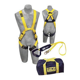 3M™ DBI-SALA® X-Large Delta™ II Harness Kit (Includes Arc Flash Nylon Harness With Web Loop, 1220861 6' Arc Flash Shock Absorbing Lanyard And Carry Bag)