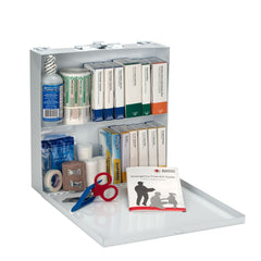 50 Person First Aid Kit, Metal Case