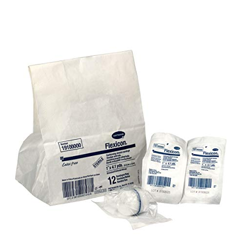 "1"" Conforming Gauze Sterile, 12/Bag - Emergency Kit Trauma Kit First Aid Cabinet Refill"