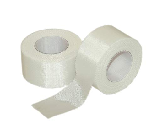 "1""x10 yd. Cloth Athletic First Aid Tape - Sports First Aid Kit Emergency Kit for Team Sport Athletic Wraps"