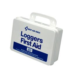 25 Person Loggers First Aid Kit, Plastic Case - BS-FAK-5217-1-FM