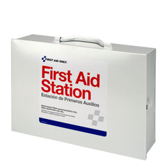 75 Person 2 Shelf First Aid Steel Cabinet - BS-FAK-6135-1-FM