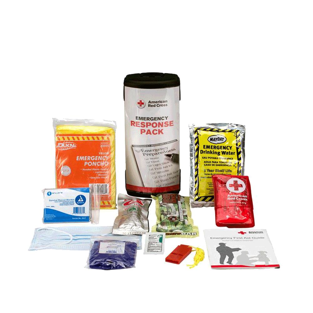 American Red Cross Emergency Response Pack - BS-FAK-711009-1-FM