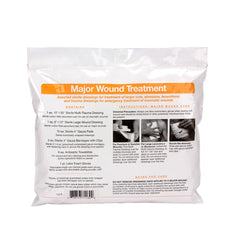 22 Piece First Aid Triage Pack - Major Wound Triage Treatment - BS-FAK-71-130-1-FM