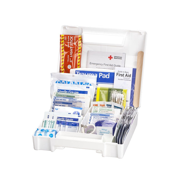 American Red Cross Deluxe Auto First Aid Kit - BS-FAK-711340-1-FM