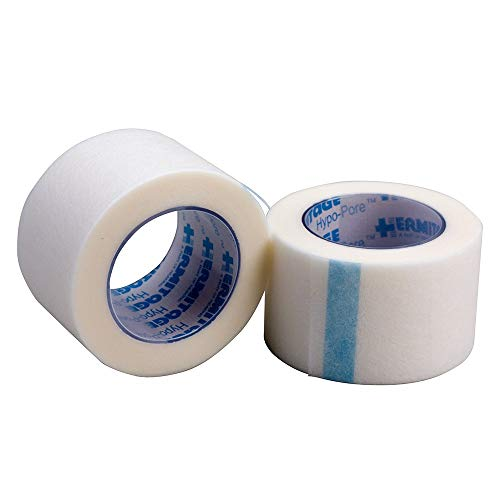 "1""x 10 yd Hypoallergenic First Aid Tape, 12/Box - Emergency Kit Trauma Kit First Aid Cabinet Refill"