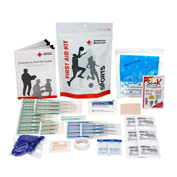 Sports First Aid Zip Kit - LIMITED TIME OFFER! - BS-FAK-720010-1-FM