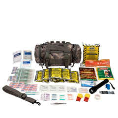 Camillus First Aid 3 Day Survival Kit With Emergency Food And Water, Black (73 Piece Kit) - BS-FAK-90453-1-FM