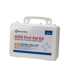 25 Person Bulk Plastic ANSI A, First Aid Kit - BS-FAK-90562-1-FM