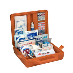 50 Person Weatherproof ANSI A+ Compliant First Aid Kit, Plastic Weatherproof Case - BS-FAK-90699-1-FM