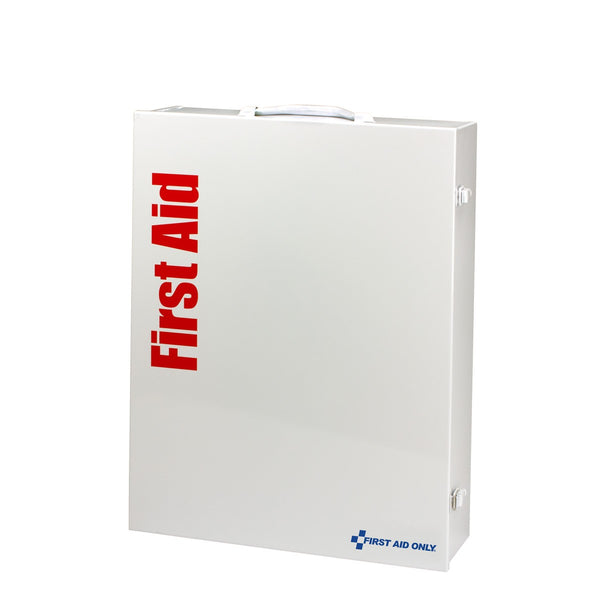150 Person XL Metal SmartCompliance First Aid Cabinet With Medication