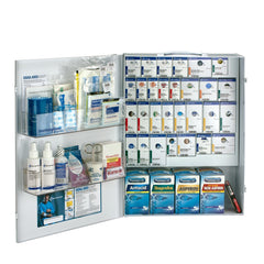 XL Metal SmartCompliance General Business First Aid Cabinet with Meds