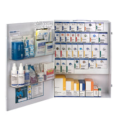 150 Person XL Metal SmartCompliance First Aid Cabinet Without Medications