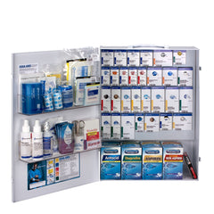 150 Person XL Metal SmartCompliance Food Service First Aid Cabinet With Medications - BS-FAK-90830-1-FM