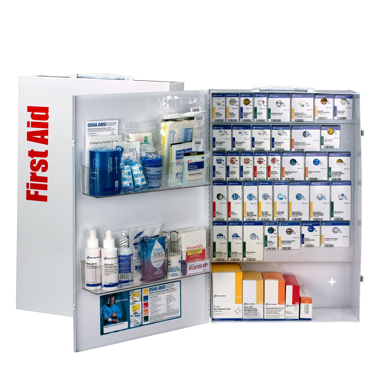 XXL Metal SmartCompliance Food Service First Aid without Meds