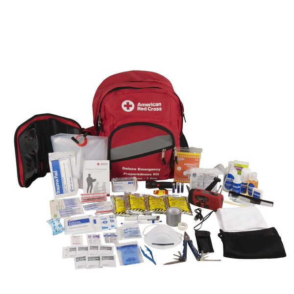 American Red Cross Emergency Preparedness Deluxe 3-Day Backpack - BS-FAK-91052-1-FM