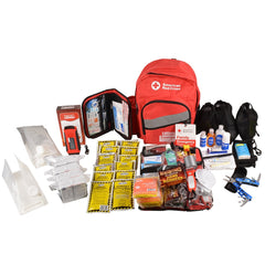 American Red Cross Emergency Preparedness 4 Person, 3-Day Backpack - BS-FAK-91053-1-FM