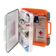50 Person ANSI A+ 216 Piece First Aid Kit, Plastic - BS-FAK-91064-1-FM