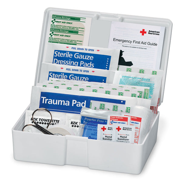 American Red Cross Family First Aid Plastic Kit - BS-FAK-9160-RC-1-FM