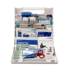 American Red Cross Deluxe Family First Aid Kit, Plastic Case - BS-FAK-9161-RC-1-FM