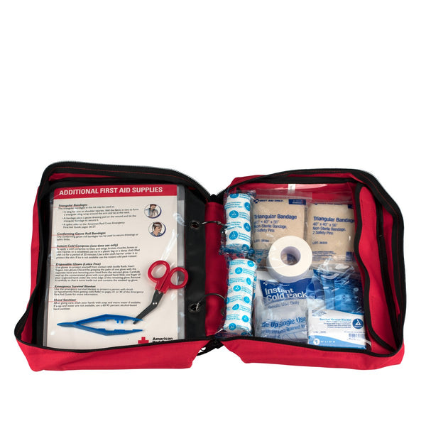 American Red Cross Deluxe Family First Aid Kit - BS-FAK-9162-RC-1-FM