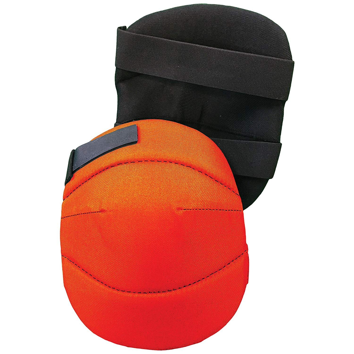 Brite Safety Lightweight Knee Pads with EVA Foam Body, Hook & Loop Straps, Ideal for kneeling on delicate flooring or gardening (Soft Knee Cap)