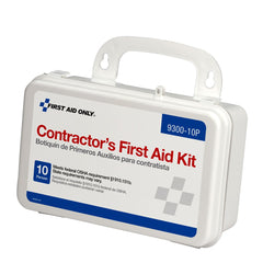 10 Person OSHA Contractor First Aid Kit, Plastic Case - BS-FAK-9300-10P-1-FM