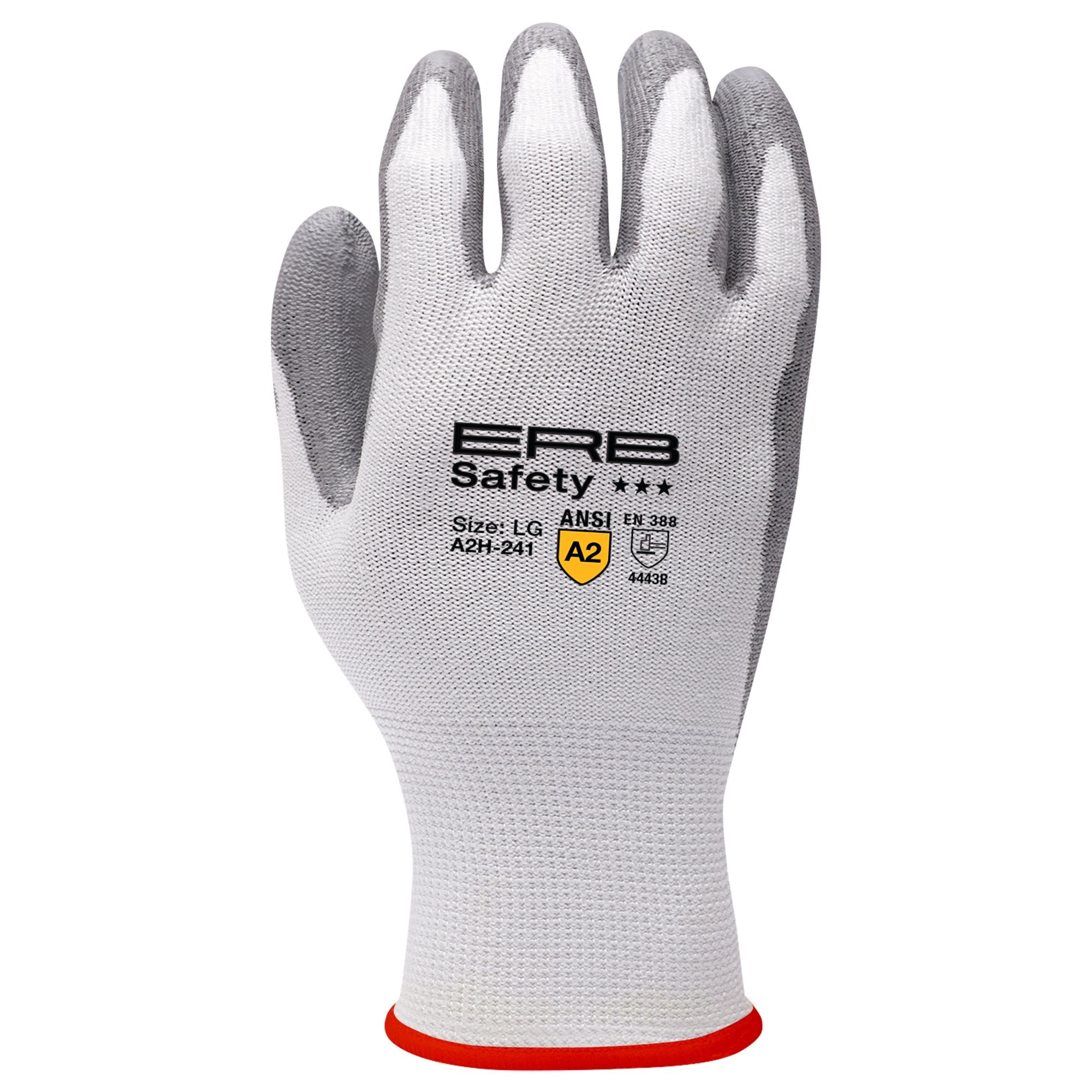 A2H-241 HPPE Cut Glove with PU Coating 1pair