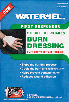 "4"" x 4"" First Responder Burn Dressing - 60 dressings per case - BS-WJT-B0404-60-1-FM"