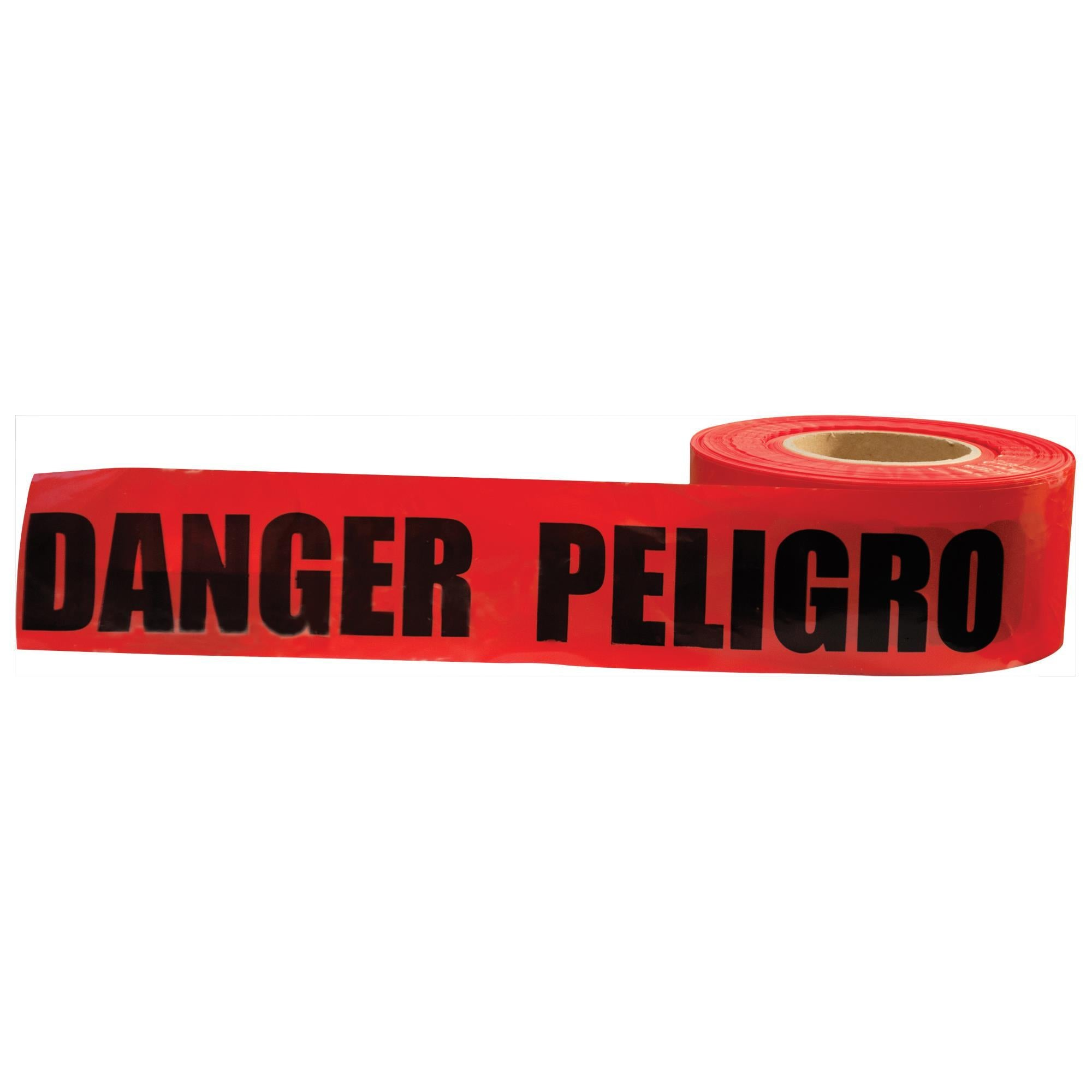 13753 Danger/Peligro Tape (Sold by Case of 10 rolls)