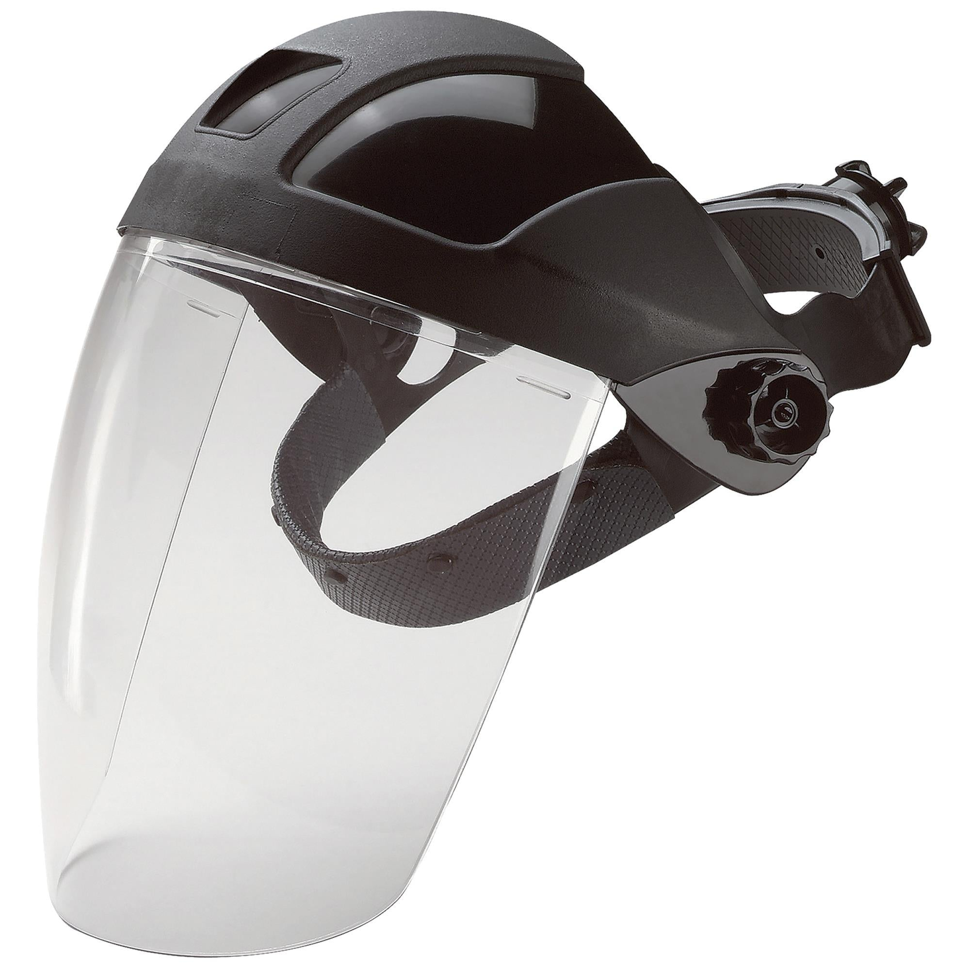 E12 Ratchet Headgear with PC Shield 1PC