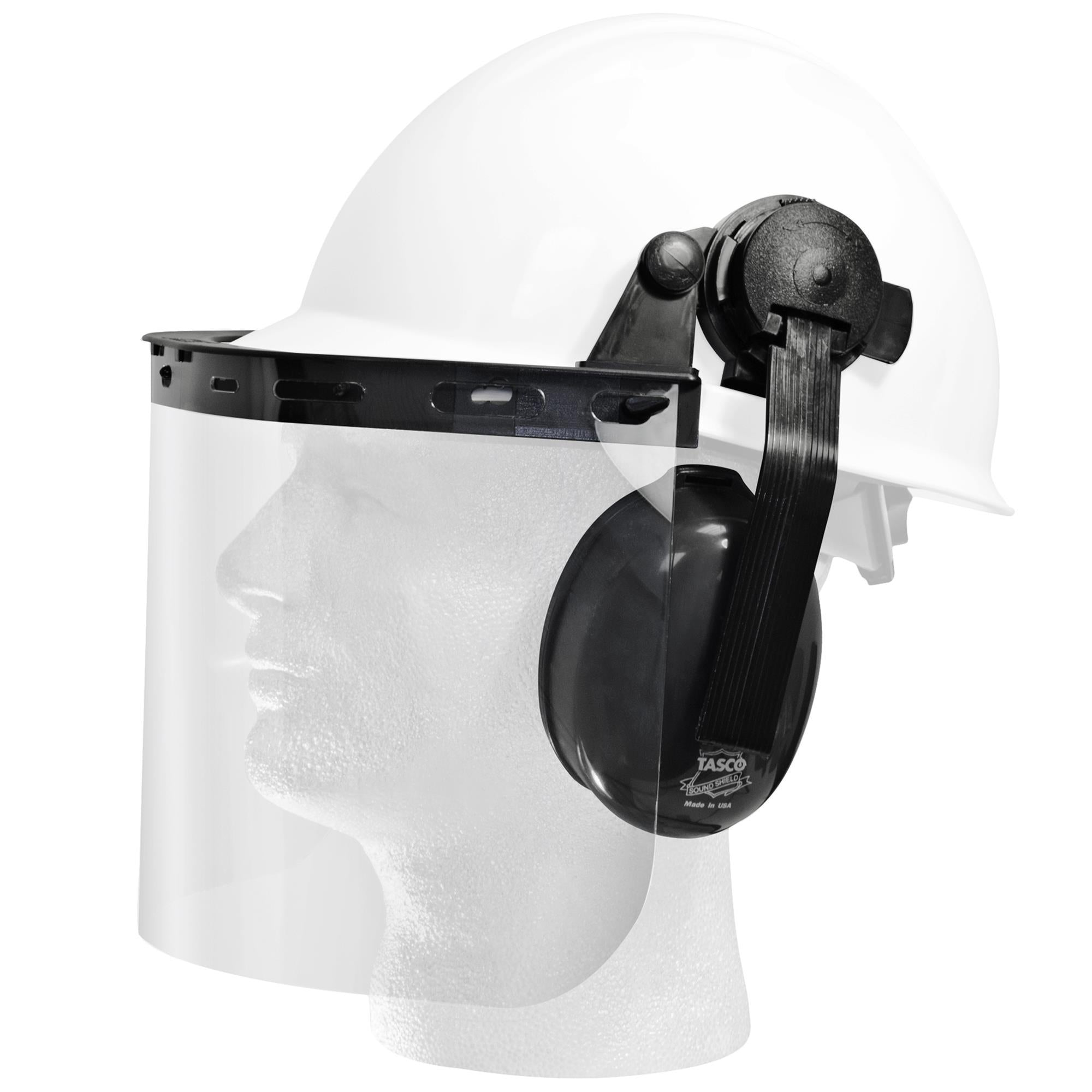 E14 FACESHIELD EAR MUFF KIT 1PC